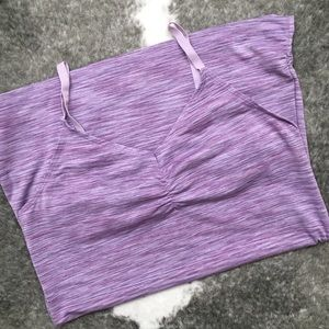 Purple Yoga Top